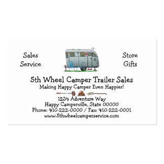 Spartan Camper Trailer RV HSH Pack Of Standard Business Cards