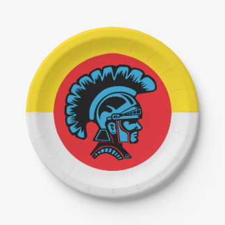 Spartan Fever - Paper Plates 7 Inch Paper Plate