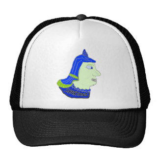Spartan Head Logo Blue/Green/Sea Green Mesh Hat
