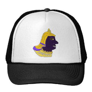 Spartan Head Logo Gold/Purple/Black Mesh Hat