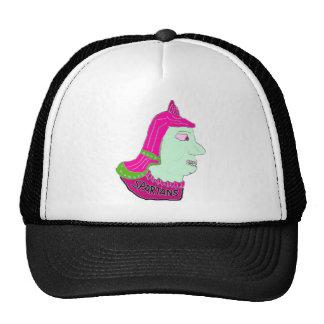 Spartan Head Logo Pink/Green/Sea Green Mesh Hats