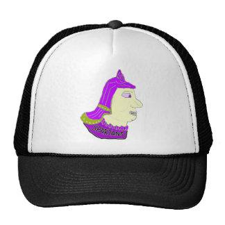 Spartan Head Logo Purple/Olive/Yellow Trucker Hat