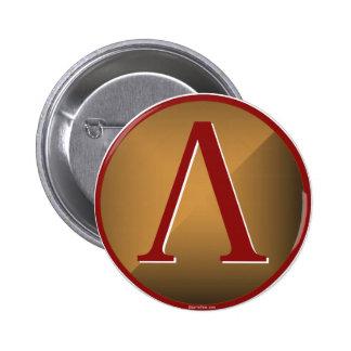 Spartan Lambda Shield 6 Cm Round Badge