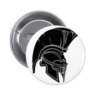 Spartan or trojan helmet badge