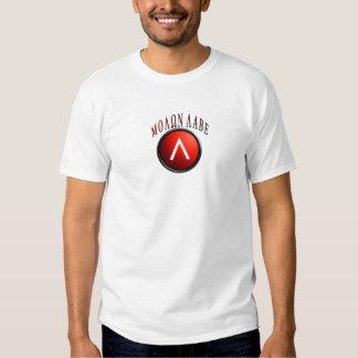 Spartan Shield/AR-15 Molon Labe Tee Shirts