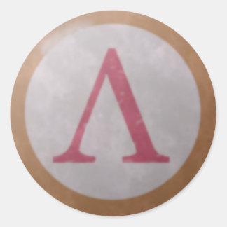 Spartan Shield Sticker