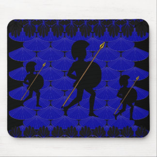 Spartan Warrior Mouse Pads