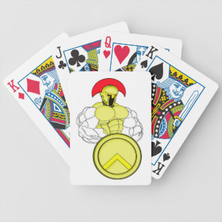 SPARTAN WARRIOR ROBOT BICYCLE PLAYING CARDS