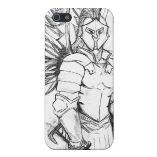 Spartan Warrior Sketch Case For The iPhone 5