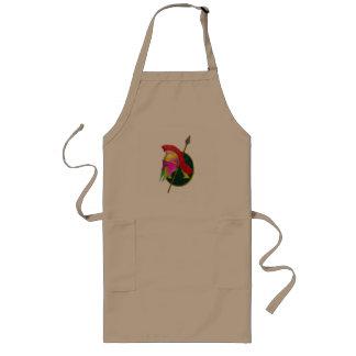Spartan warriors hemlet long apron