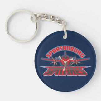 Spartanburg Spitfires Logo Keychain