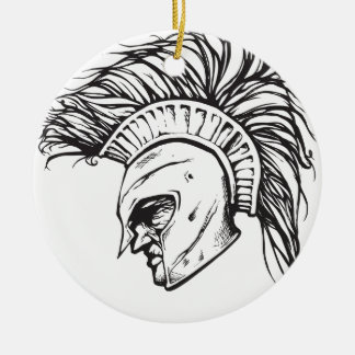 Spartans Christmas Ornament