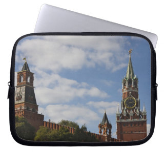 Spasskaya Tower in Red Square, Moscow, Russia Laptop Sleeve