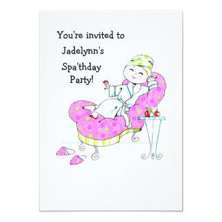 Spa'thday Party Invitation