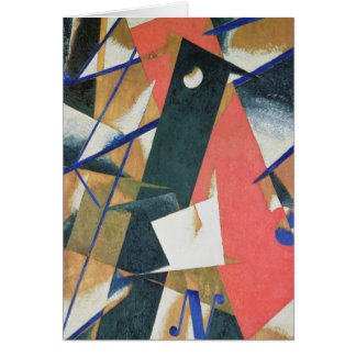 Spatial Force Construction, 1921 Card