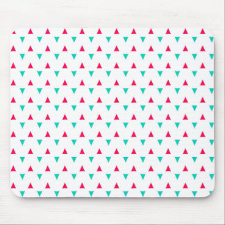 Spattered Triangles Red, White, Blue Mousepads