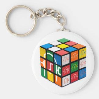 Spatula City Cube Keychain