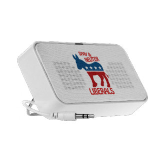 SPAY AND NEUTER LIBERALS TRAVEL SPEAKERS