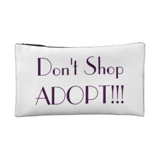 Spay Neuter Adopt bag Cosmetic Bag