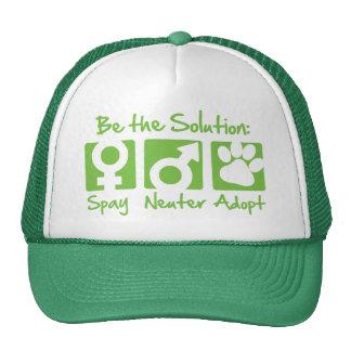 """""""Spay, Neuter, Adopt"""" Hat"""