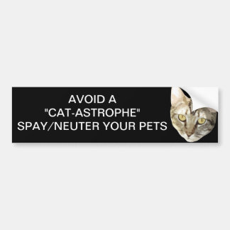 Spay/Neuter Bumper Sticker
