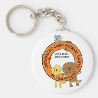 SPCHS Lifesaver Basic Round Button Key Ring