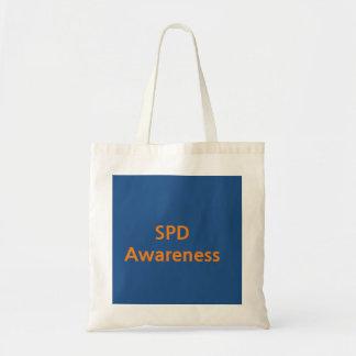 SPD Awareness Budget Tote Bag