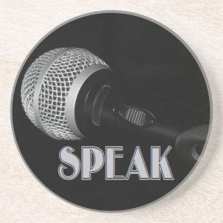 Speak Beverage Coasters