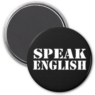 Speak English Magnet