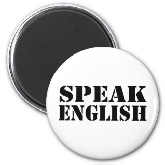 Speak English Refrigerator Magnets