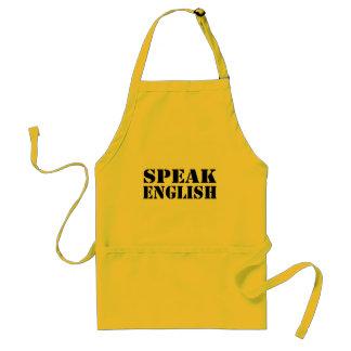 Speak English Standard Apron