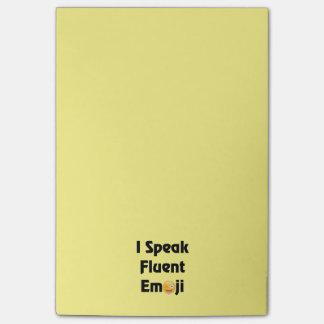 Speak Fluent Emoji Post-it Notes