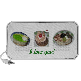 Speak out: I love you! with each cakes Travel Speaker