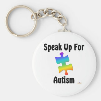 Speak Up For Autism Key Chains