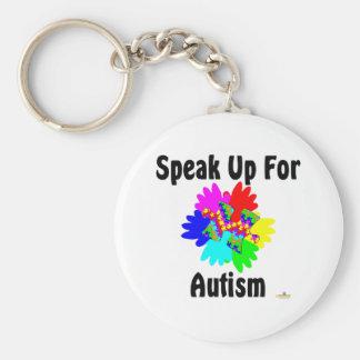 Speak Up For Autism Keychain