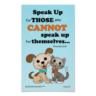 Speak up for those ... (BowWow & MeeYow) Poster