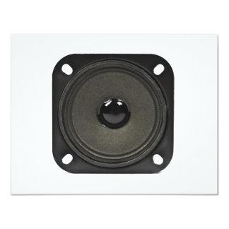 speaker 11 cm x 14 cm invitation card