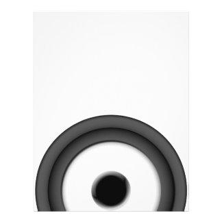 Speaker 21.5 Cm X 28 Cm Flyer