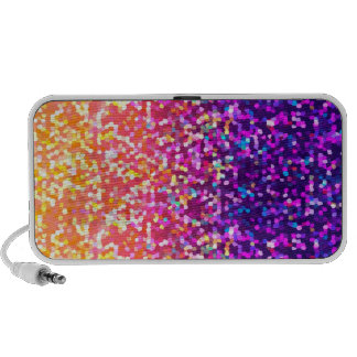Speaker Case Glitter Graphic