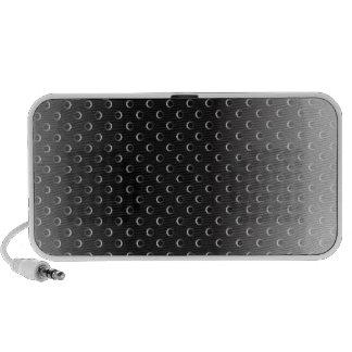 Speaker Case glossy metal grid