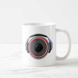 Speaker Headset Basic White Mug