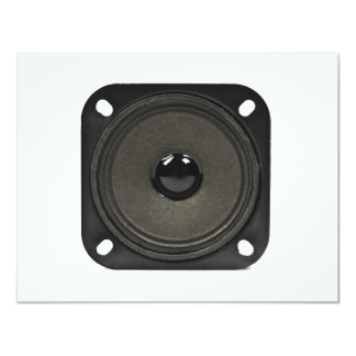"speaker 4.25"" x 5.5"" invitation card"