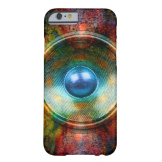 Speaker on a colourful background iphone 6 case