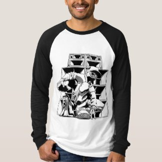 Speaker Stack Men's Long Sleeve T-Shirt