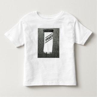 Speaker's badge for the Suffragette meeting Toddler T-Shirt