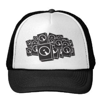 Speakers - Music DJ DJing Disc Jockey Hats
