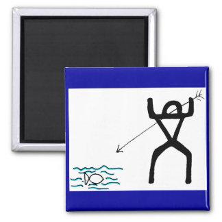 Spear fisher magnet
