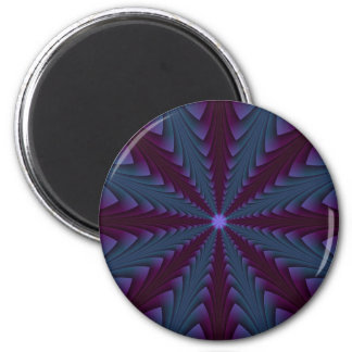 Spear-point in Blue and Purple Magnet