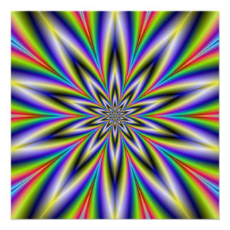 Spear Point Star The Zazzle Perfect Poster