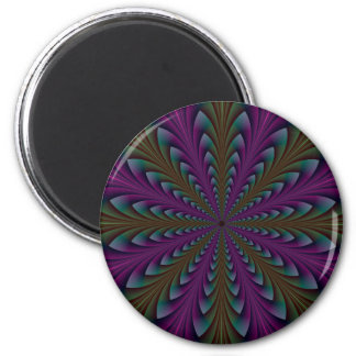 Spear Points in Purple and Green Magnet